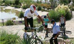 دوچرخه سواری در پردیس