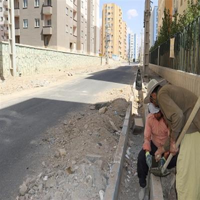 طرح جدولگذاری معابر سایت ۶ هزار واحدی مسکن مهر پردیس
