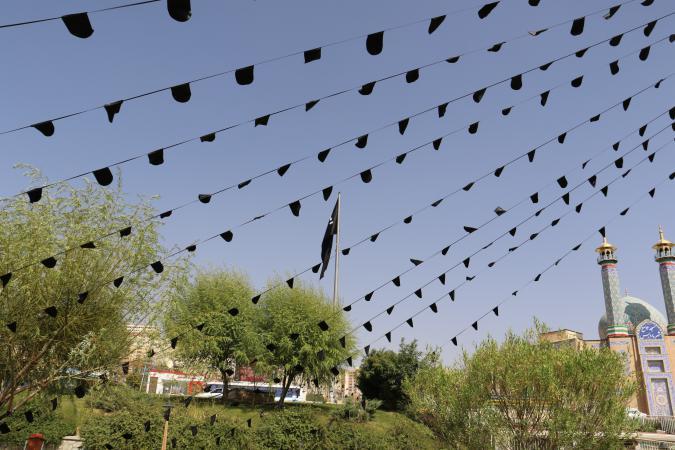 شهرستان پردیس رخت سیاه بر تن کرد