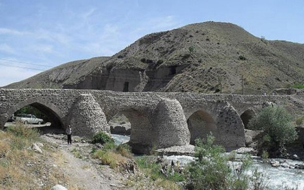 قدمت پل تاریخی شاهعباسی جاجرود در شهرستان پردیس + تصاویر