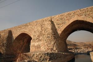 پل شاه عباسی رودخانه جاجرود شهرستان پردیس