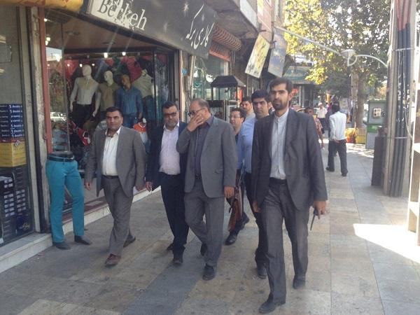 بازدید و نظارت از صنوف شهرستان پردیس