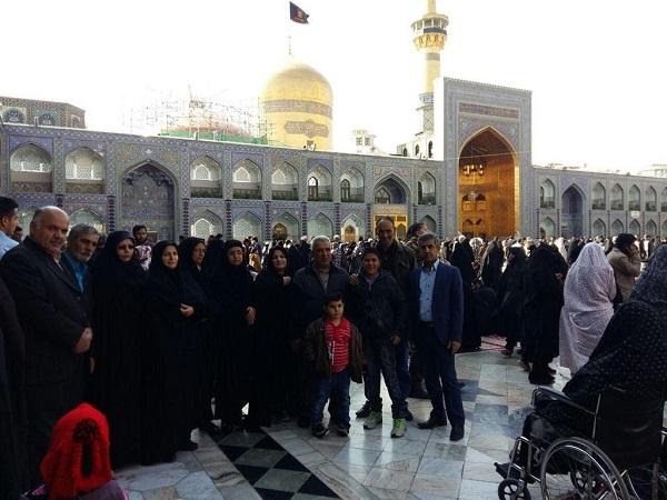 اعزام خانوادههای آزادگان بومهنی به مشهد مقدس