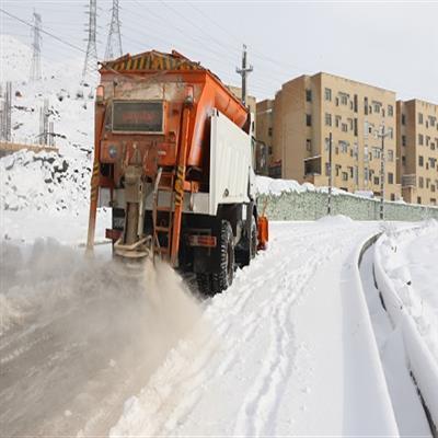 شهرداری پردیس ۲۵۰۰ تن نمک و ماسه برای زمستان ذخیره کرد