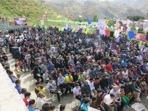 جشن به مناسبت ولادت امام زمان (عج) در بوستان سعیدآباد