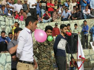 مراسم جشن به مناسبت ولادت امام زمان (عج) در بوستان سعیدآباد