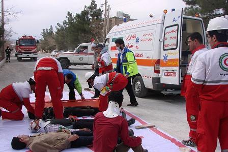 برگزاری دوره آموزش امداد و نجات و کمکهای اولیه در شهرداری بومهن