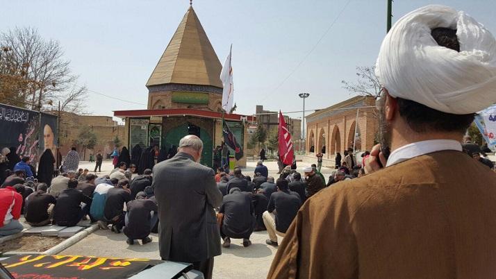 تصاویر/ مراسم عزاداری شهادت حضرت زهرا (س) در پردیس