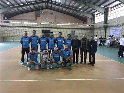 پیروزی شهرداری پردیس در رقابتهای والیبال شهرداریهای تهران