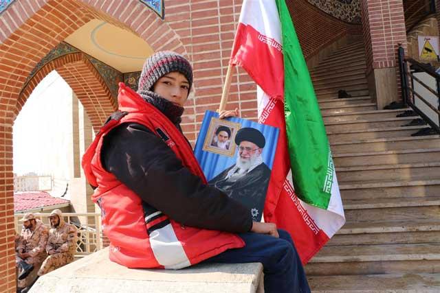 تصویر از نماز جمعه ۲۲ بهمن شهرستان پردیس