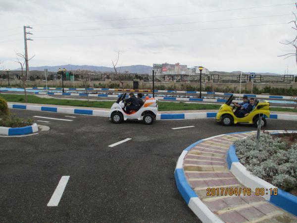 پارک آموزش ترافیک پردیس میزبان روزانه ۵۰ دانش آموز است + تصاویر