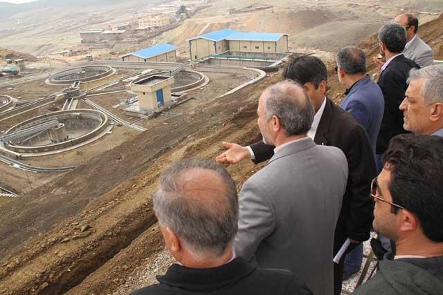 افتتاح فاز نخست تصفیهخانه فاضلاب پردیس با ظرفیت ۲۴ هزار متر مکعب