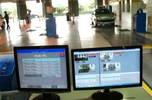 مکانیزه بودن مرکز معاینه فنی بومهن/ فعالیت ۸ ساله مرکز معاینه فنی بومهن