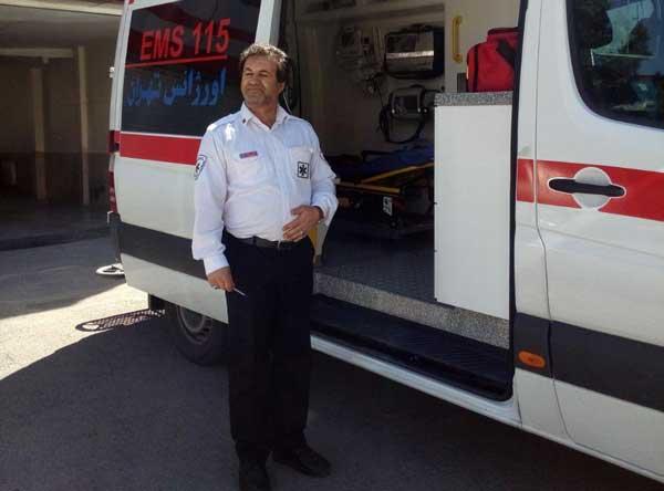 کشته شدن موتورسوار در محور جاجرود ـ تهران