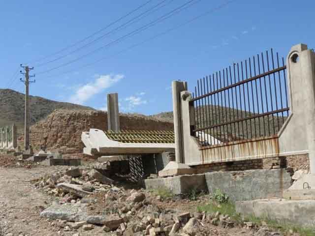 رفع تصرف ۶/۷ هکتار از اراضی ملی در پارک ملی سرخه حصار