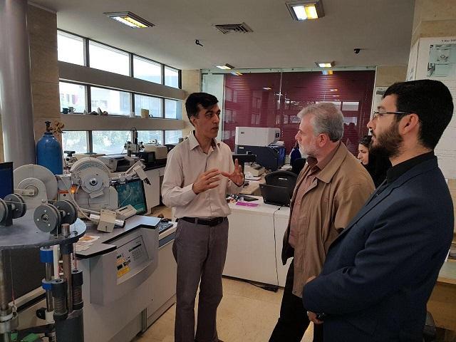 بازدید رئیس سازمان بسیج علمی، پژوهشی و فناوری از پارک فناوری پردیس