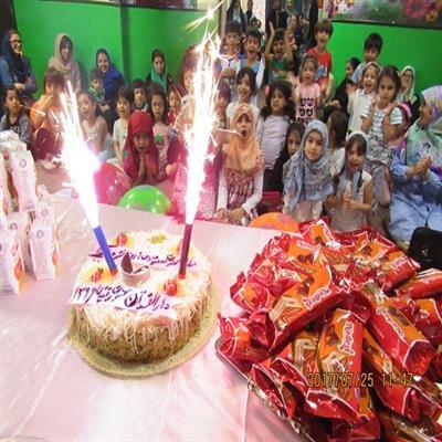 جشن میلاد حضرت معصومه (س) و روز دختر در دارالقرآن پردیس برگزار شد