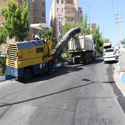 پروژه آسفالت خیابان «نخلستان» شهر پردیس آغاز شد