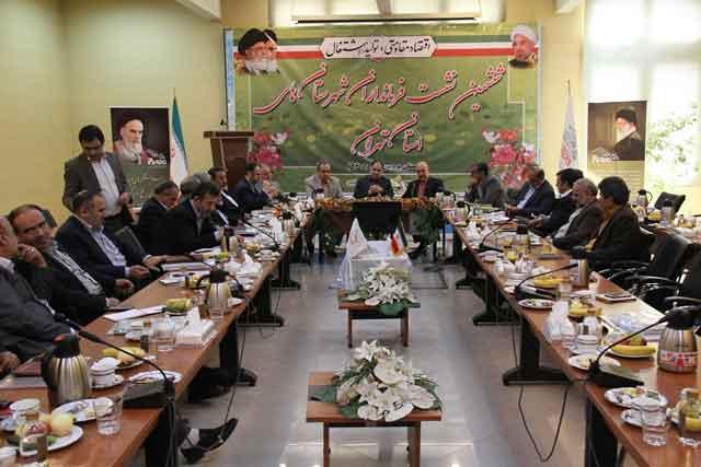 ششمین نشست فرمانداران شهرستانهای استان تهران در شهرستان پردیس