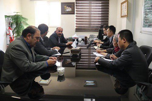 بازدید گروه مشاوران مدیریت شهری کشور چین از شهر پردیس