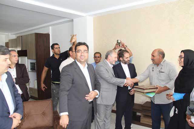 افتتاح ۳۲۱۸ واحد مسکن مهر در فازهای ۸ و ۱۱ پردیس