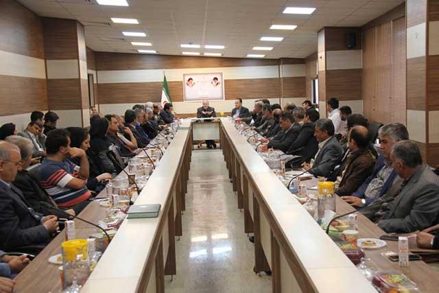 همایش تجلیل از صادر کنندگان برتر شهرستان پردیس برگزار شد