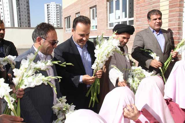 مدرسه پروین اعتصامی در مسکن مهر پردیس افتتاح شد