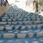 طرح پله سنگی پردیس