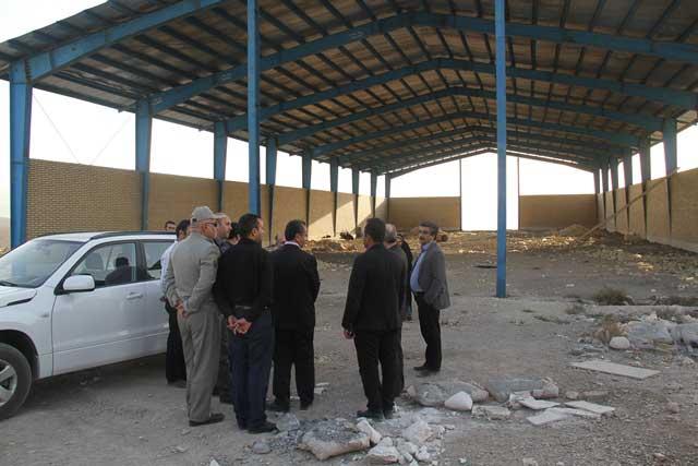 بازدید مسئولان پردیس و دماوند از محل احداث ایستگاه بازیافت پسماند شرق استان تهران