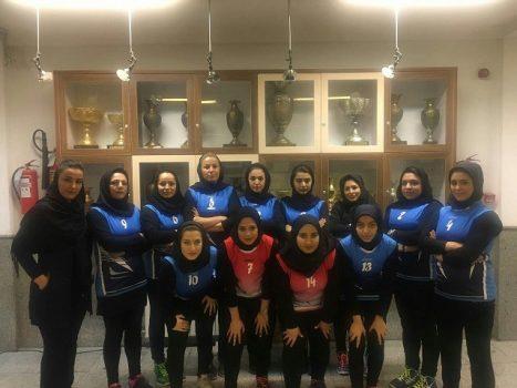 تیم والیبال بانوان شهرداری بومهن مقام پنجم مسابقات لیگ دسته دو والیبال استان تهران را کسب کرد + تصاویر