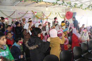 جشن ویژه روز جهانی معلولان در مرکز آموزش استثنایی رشد پردیس برگزار شد