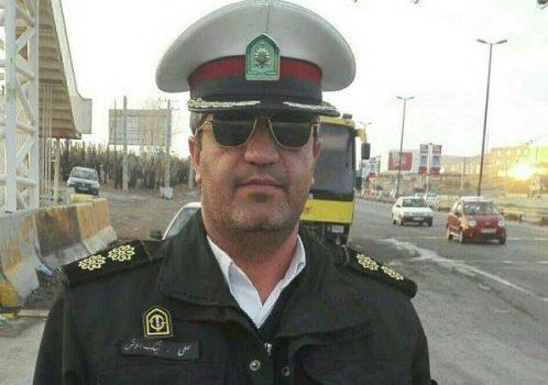 سرهنگ علی نیکروش بهعنوان فرمانده جدید پلیسراه جاجرود در محور تهران – آبعلی منصوب شد