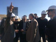 بازدید مسئولان از روند اجرای طرح فاضلاب مسکن مهر پردیس/ تأکید بر لزوم همکاری تمام ارگانهای مربوطه