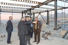 بازدید مسئولان از پروژههای در دست احداث آبفای شرق در شهر پردیس