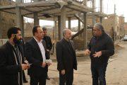 بازدید مسئولان پردیس از طرح های عمرانی روستای کرشت