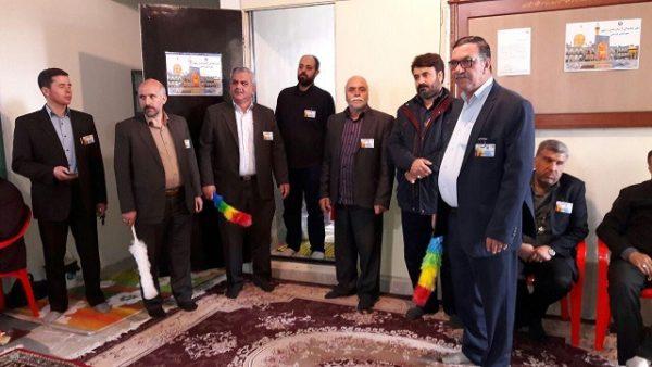 آئین افتتاح دفتر نمایندگی آستان قدس رضوی شهرستان پردیس + تصاویر
