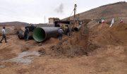 عملیات اجرایی خط انتقال آب از روستای کلان به پردیس آغاز شد + تصاویر