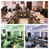 نشست مشترک بررسی مشکلات مسکن مهر پردیس نمایندگان مجلس و جمعی از متقاضیان