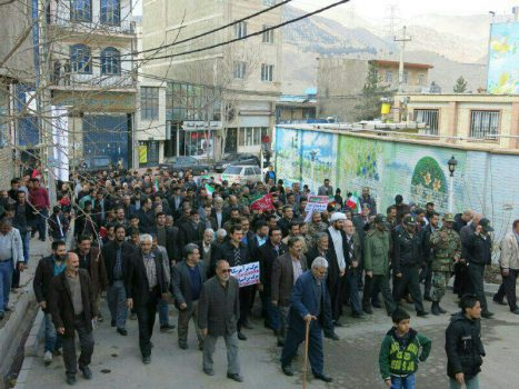 راهپیمایی ۲۲ بهمن بخش جاجرود