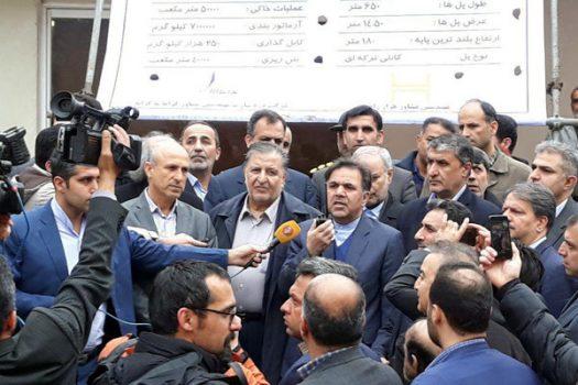 آغاز احداث آزادراه پردیس تا امامزاده هاشم/ تکمیل چهار بانده شدن محور هراز تا سال ۱۴۰۰