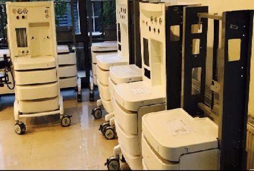 راهاندازی خط تولید دستگاه بیهوشی در پارک فناوری پردیس