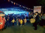 نورافشانی آسمان بومهن در شب میلاد حضرت علی (ع) + تصاویر