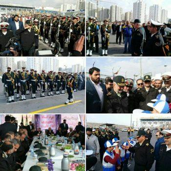 کانال تلگرام پردیس از بازدید سردار اسکندری از قرارگاه نوروزی آزادراه تهران-پرديس خبر داد
