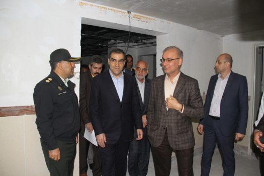بررسی مشکلات بیمارستان خیریه الغدیر بومهن با حضور وزیر بهداشت