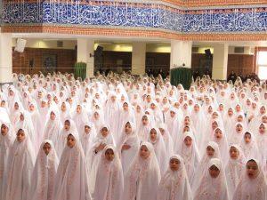 جشن تکلیف مدارس دخترانه شهرستان پردیس
