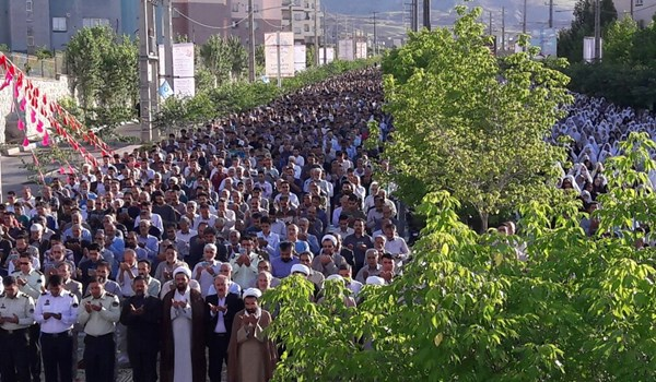 نماز عید فطر در پردیس