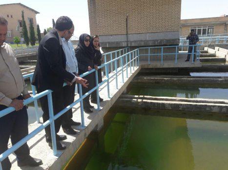 تصفیهخانههای آب و فاضلاب پردیس توسط خبرنگاران شرق استان تهران بازدید شد