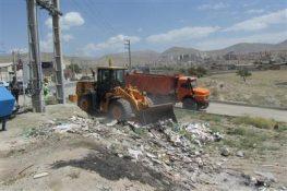 زیرسازی و آسفالت روستای اصطلک پردیس/ جمع آوری نخالههای ساختمانی از این روستا