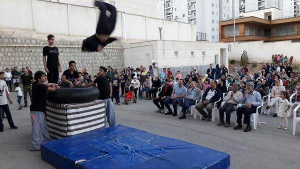 همایش ورزش، نشاط و سلامتی در پردیس برگزار شد