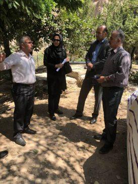بررسی وضعیت آب شرب روستای واصفجان پردیس